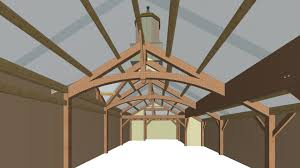 bensonwood a classic barn for a classic car enthusiast classic car garage interior rendering