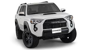 toyota 4runner 2017 black bushwacker pocket style fender flares for 2014 u20132016 toyota 4runner