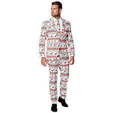 christmas suits mens opposuits gangstaclaus christmas costume suit uk size 42