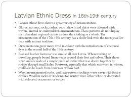latvian folk dress ppt
