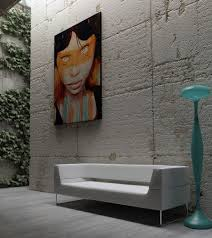 decorations modern interior design canvas wall art ideas on grey