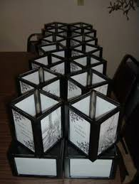 Picture Frame Centerpieces by 3 Frames From Dollar Store Duct Taped Together For Great Center