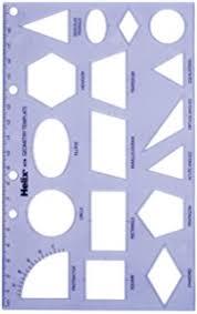 amazon com westcott technical drawing template t 816 arts