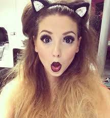 this was in zoella s vlog in 2016 for a party love her makeup