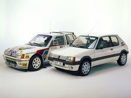 peugeot 205 t16 peugeot 205 t16 rally car racing pinterest rally car