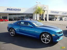 2010 blue camaro 2010 aqua blue metallic chevrolet camaro ss rs coupe 23951432
