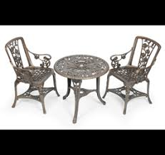 Metal Garden Chairs And Table Amazon Co Uk Garden Furniture Sets Garden U0026 Outdoors