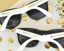 customized wedding favors wedding sunglasses etsy