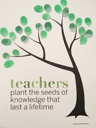 classroom fingerprint tree classroom gift for