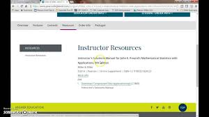 downloading instructor resources from pearson highered youtube