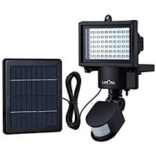 solar bright lights outdoor amazon com litom bright 60 led solar lights outdoor solar security