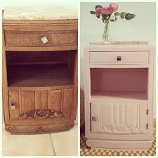 mobilier vintage scandinave avant après petit meuble vintage à retrouver sur mon blog diy