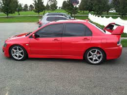 mitsubishi evo red 2003 mitsubishi evo evolution lancer evo for sale westtown