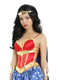 halloween costume with cape dc comics wonder woman lace up corset with detachable cape topic