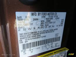 2011 ford expedition king ranch color code photos gtcarlot com