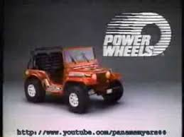 barbie jeep power wheels 90s jeep power wheels commercial 1988 youtube