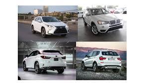 lexus rx 350 vs bmw x3 2016 lexus rx350 vs bmw x3 xdrive35i u2013 the best car finder app