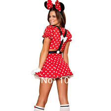 red minnie mouse costumes adults halloween costumes for women