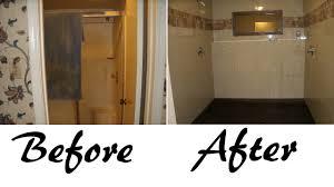 repair nature pebble flooring in shower washer drain
