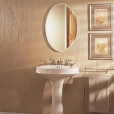 Oval Bathroom Mirrors Brushed Nickel Oval Mirror Bathroom Glamorous 40 Bathroom Mirrors Brushed Nickel