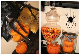 Halloween Candy Jars by Diy Spooky Spider Halloween Display Trays