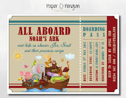noah u0027s ark baby shower invitations noah u0027s ark baby shower