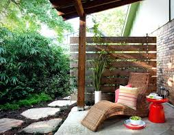 Backyard Privacy Fence Ideas Patio Privacy Fence Ideas View In Gallery Privacy Screen Of Plants