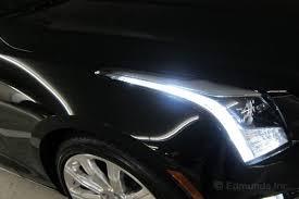 cadillac ats headlights getting used to the led headlights 2014 acura mdx awd term