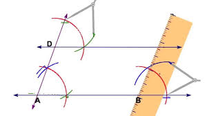 parallelogram compass construction 1 of 5 youtube