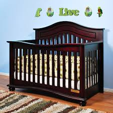 Oak Convertible Crib by Jordana Lia 3 In 1 Convertible Crib Cherry With A Twist On The