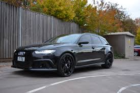 mean looking audi rs6 avant on hre s104 wheels