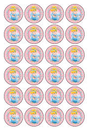 cinderella cake toppers cinderella cupcake topper 30