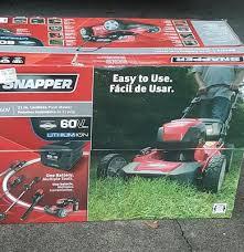 snapper sp60v 60v mower includes 4ah battery and charger walmart com