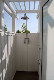 Teak Outdoor Shower Enclosure by 182 Best Cabana And Outdoor Shower Images On Pinterest Beach