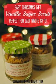 Cheap Cute Christmas Gifts Vanilla Sugar Scrub Easy Last Minute Gift Idea