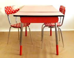 table de cuisine vintage table cuisine retro contemporary design retro dining table