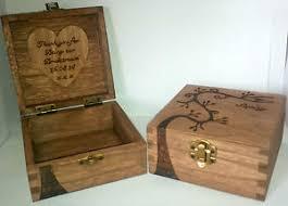 Personalised Keepsake Box Personalised Wooden Jewellery Keepsake Box Bridesmaid Flower