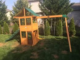 5 12 big backyard treasure cove playset assembled in e