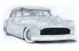 classic cars drawings 1949 desoto custom sedan drawing by vertualissimo on deviantart