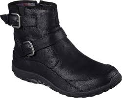 skechers womens boots size 11 womens skechers relaxed fit reggae dread ankle boot