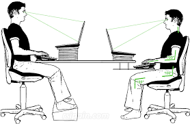 Desk Height Ergonomics Equipment Repetitive Strain Injury Rsi
