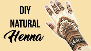 diy henna easy natural recipe youtube