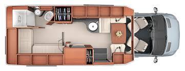 sprinter van conversion floor plans libero past models leisure travel vans