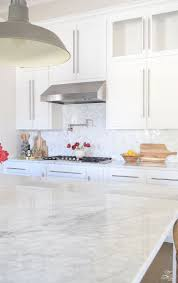 Marble Backsplash Kitchen 14 White Marble Kitchen Backsplash Ideas You U0027ll Love