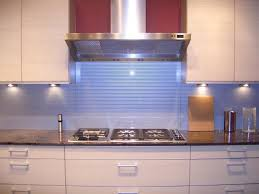 light blue kitchen backsplash kitchen glass backsplashes here a light blue painted glass ki