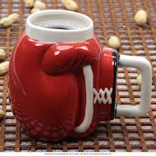 boxing glove ceramic coffee mug sports mugs retroplanet com