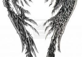 fallen wings designs sleeve ideas