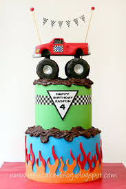 monster truck jam party supplies 33 best monster truck cakes images on pinterest monster trucks