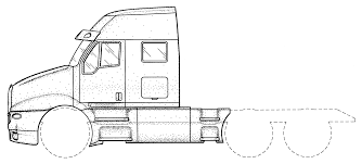 kenworth mississauga patent usd437570 truck body google patents