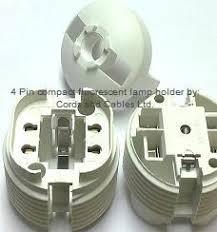 g24d u0026 g24q cfl compact fluorescent lamp holder
